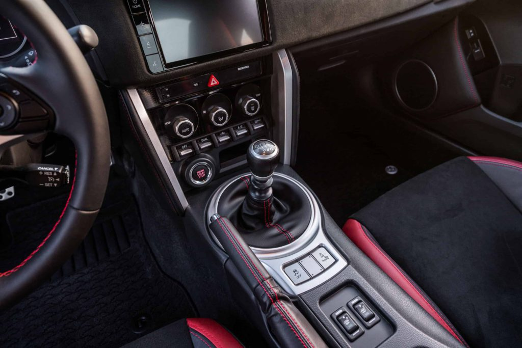2020 manual transmission cars Toyota 86 shifter