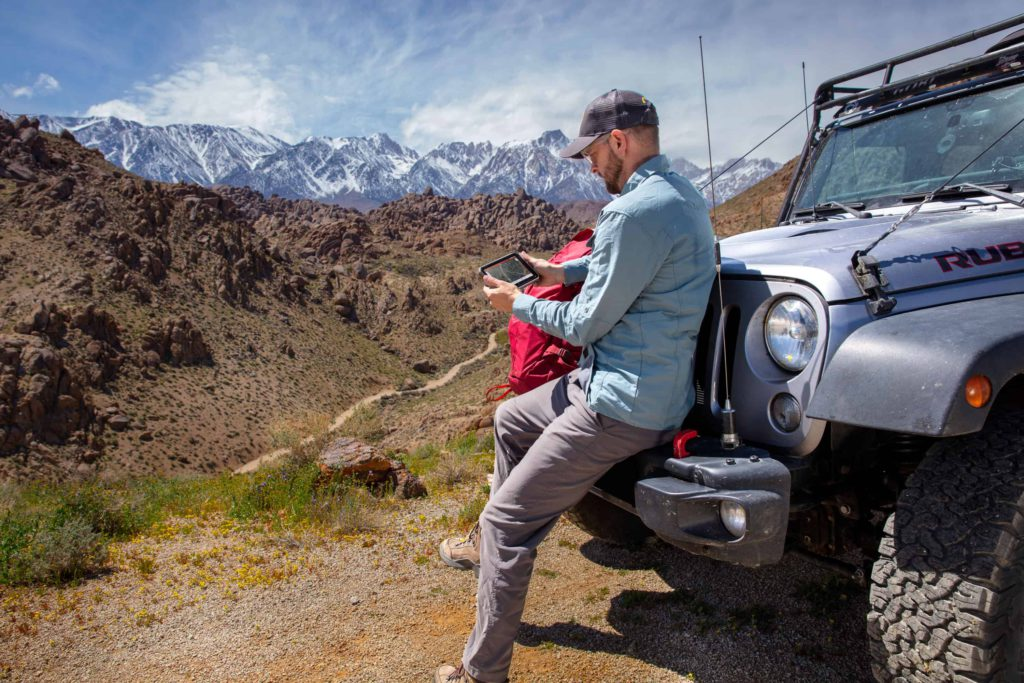 Overlanding with Garmin's Overlander GPS unit