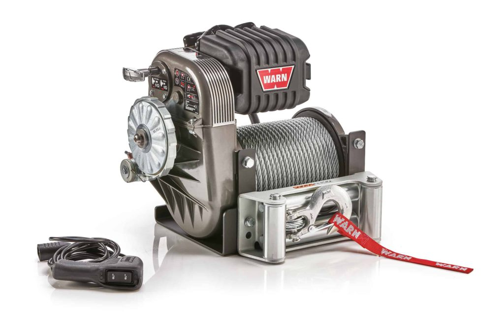 New WARN M8274 winch