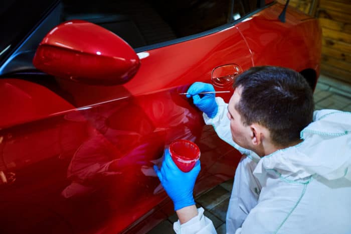 how to remove paint from a car