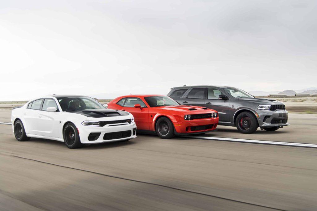 Dodge SRT Hellcat Lineup