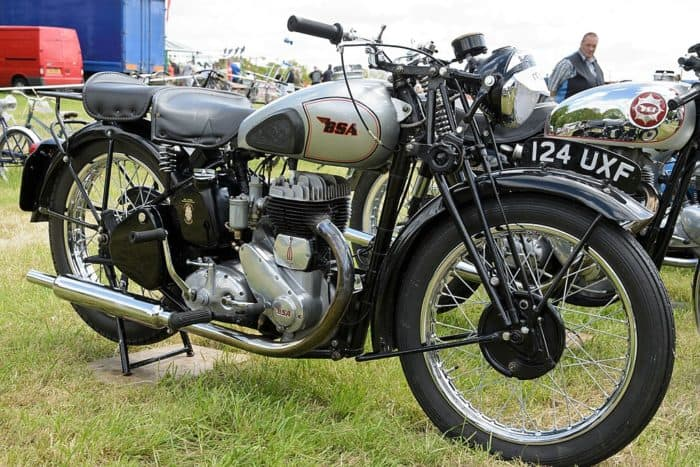 BSA M20 motorcycle