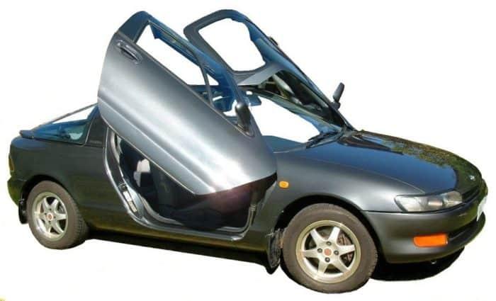 Toyota Sera obscure import classic