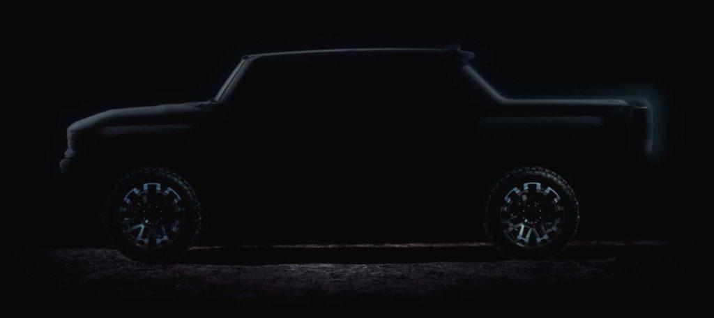 GMCHummer EV Supertruck Teaser