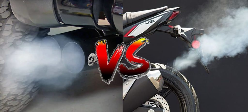 motorcycle emissions