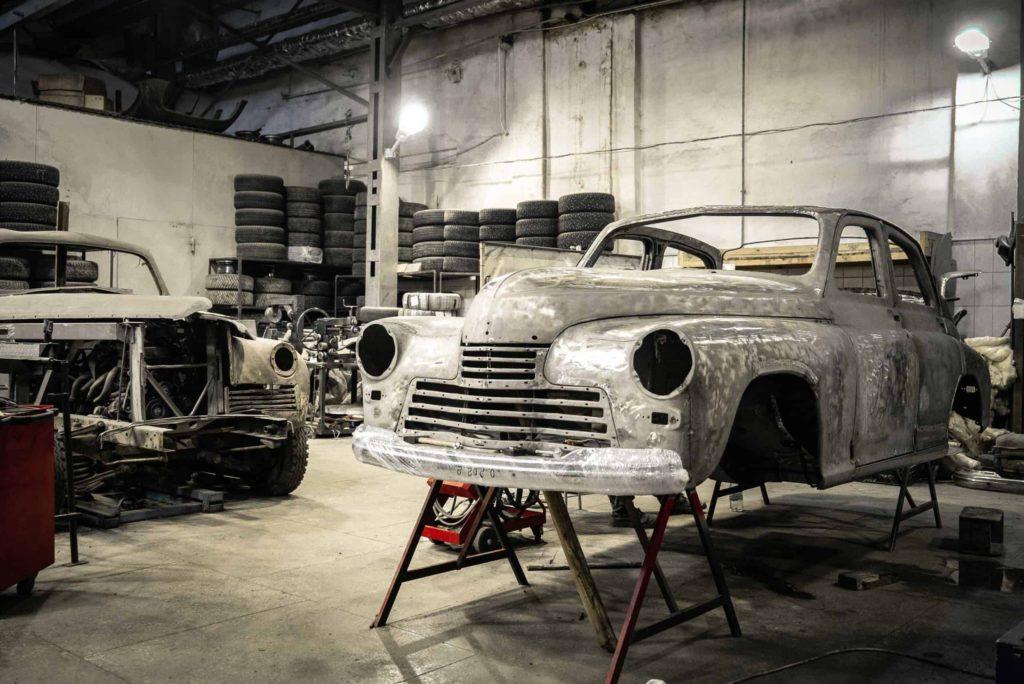 Classic Car Restoration asbestos exposure