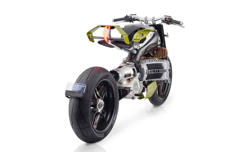 Project Hypertek E-moto concept