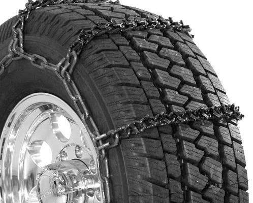 v-bar truck tire chain