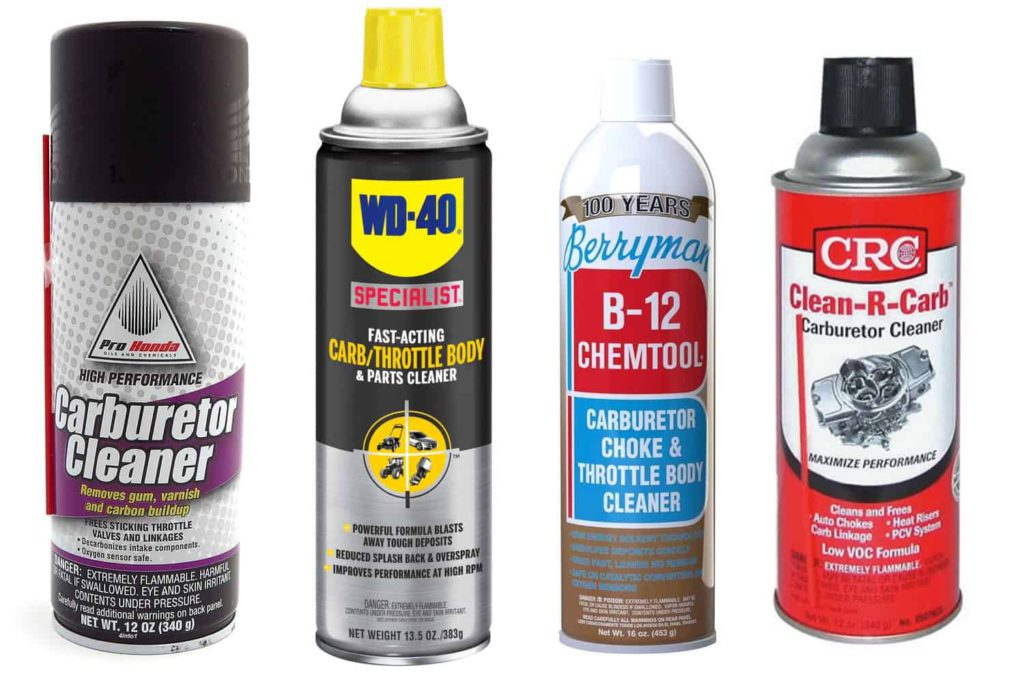 Best Motorcycle Carb Cleaner Brands Lined Up