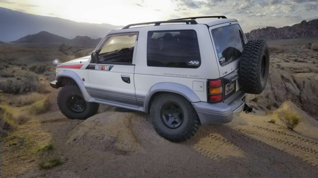 Rancho RS9000XL adjustable shocks 1992 SWB RHD Mitsubishi Pajero