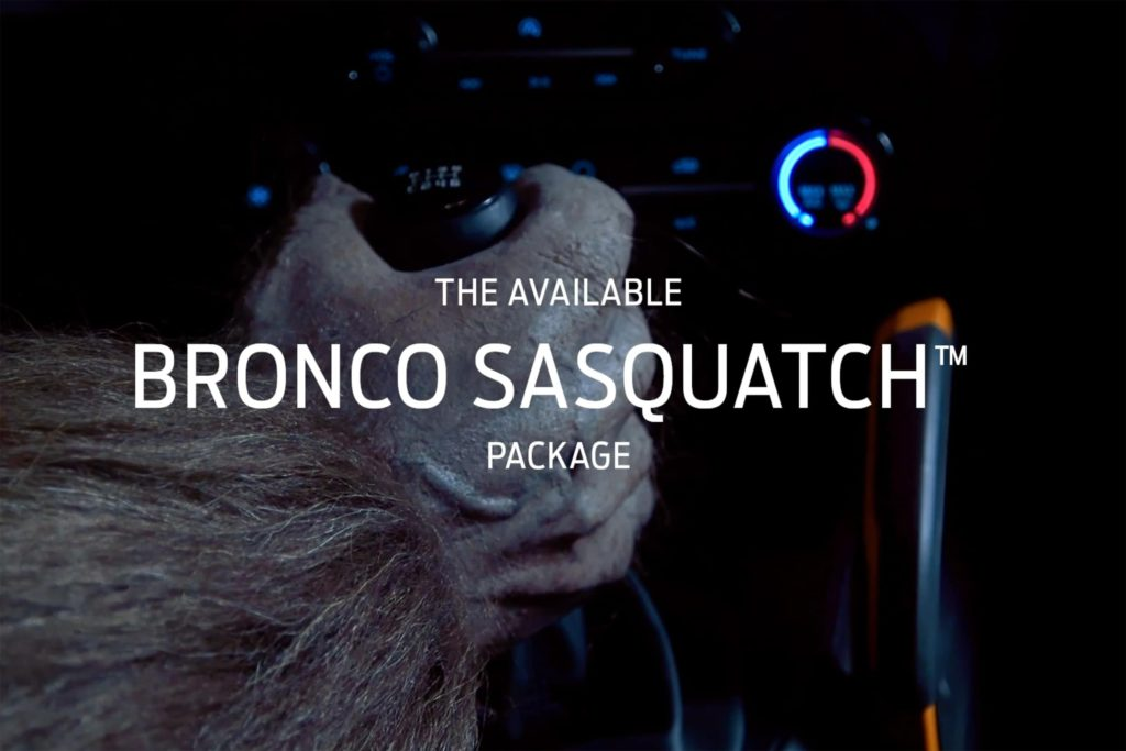2021 Bronco Sasquatch manual transmission