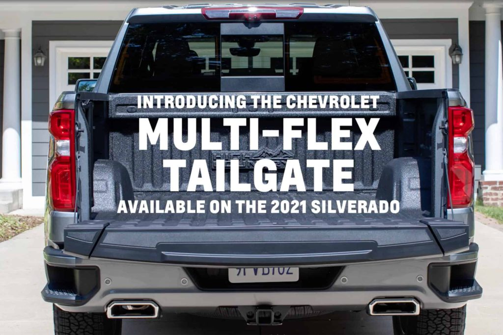 Chevrolet Multi-Flex Tailgate