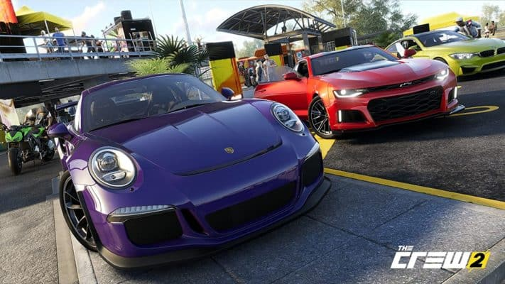 The Crew 2 racing game for PS4