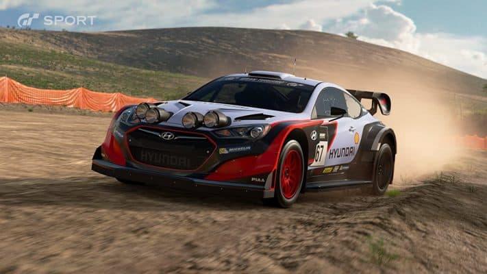 Gran Turismo Sport racing game PS4