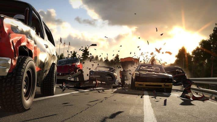 Wreckfest PS4 racing game