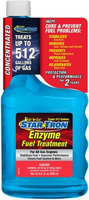 Star Tron Enzyme Fuel Treatment Concentrate fuel injector cleaners