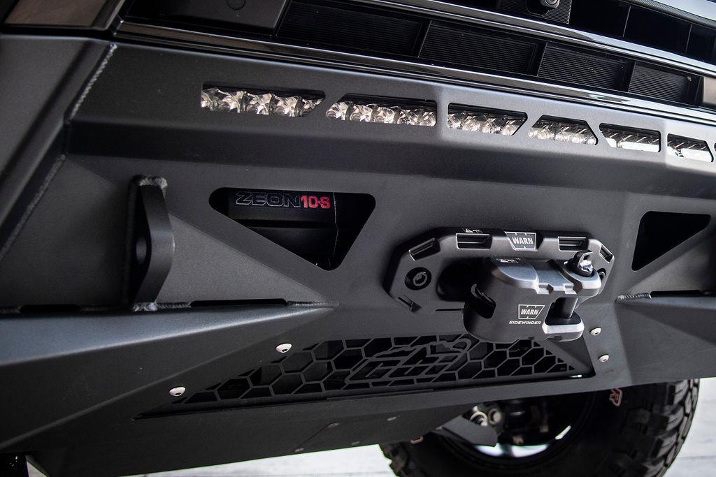 Lexus LX570 CBI Front bumper with Warn winch