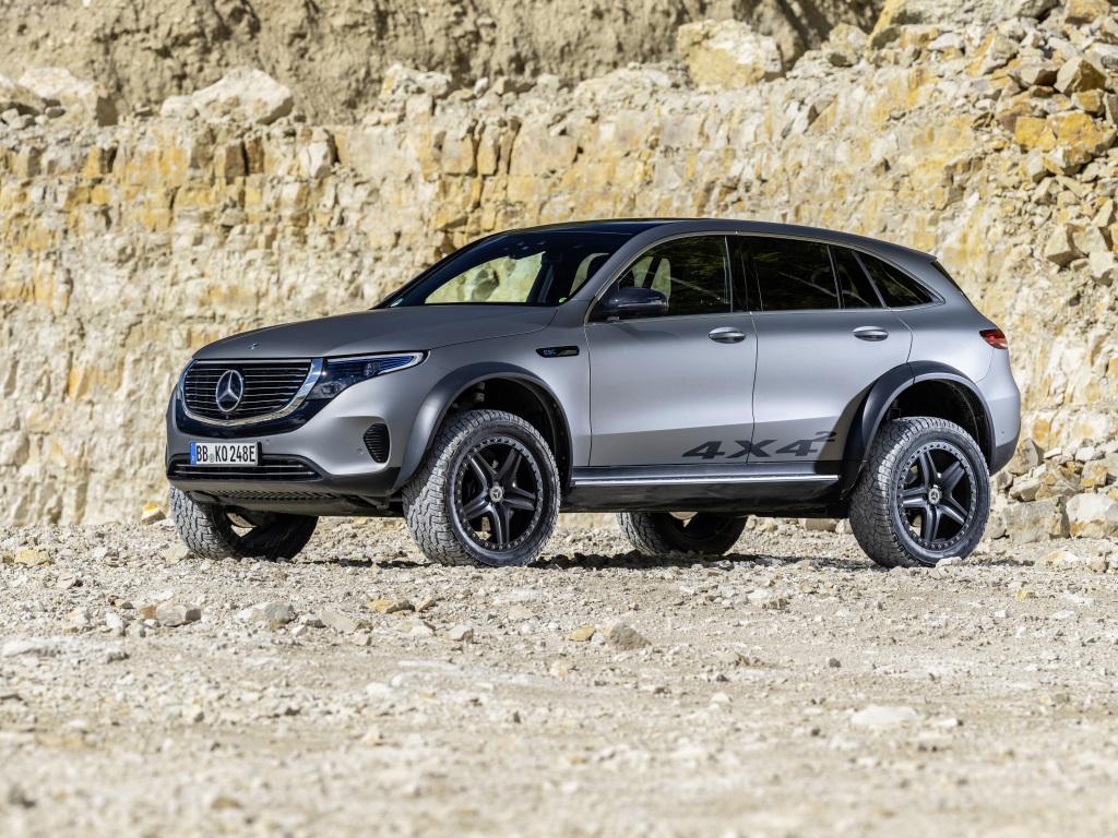 Mercedes-Benz EQC 4x4 Squared