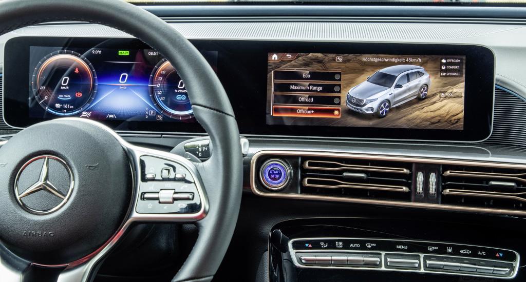 Mercedes-Benz EQC 4x4 Squared interior
