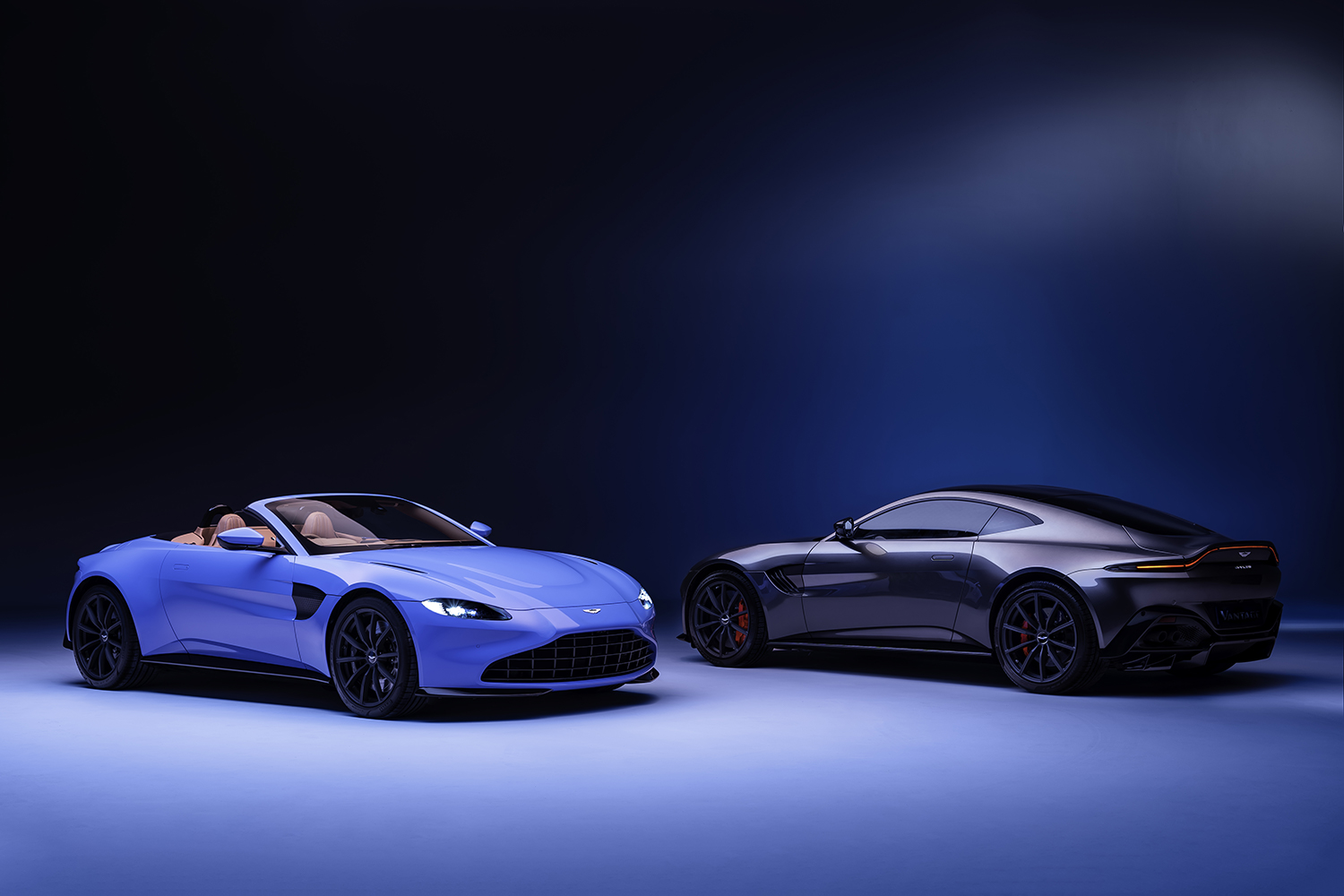 Aston Martin Vantage Roadster and Coupe