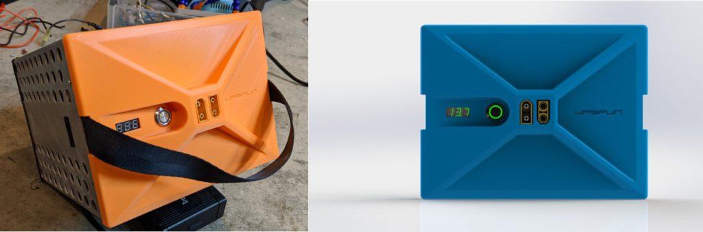 upspun lithium battery pack