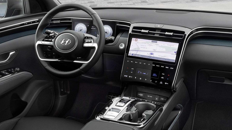 2022 Hyundai Tuscon interior