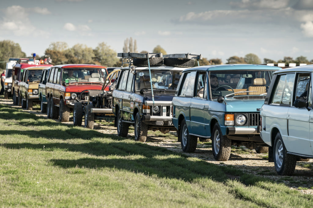 50 years of Range Rover parade
