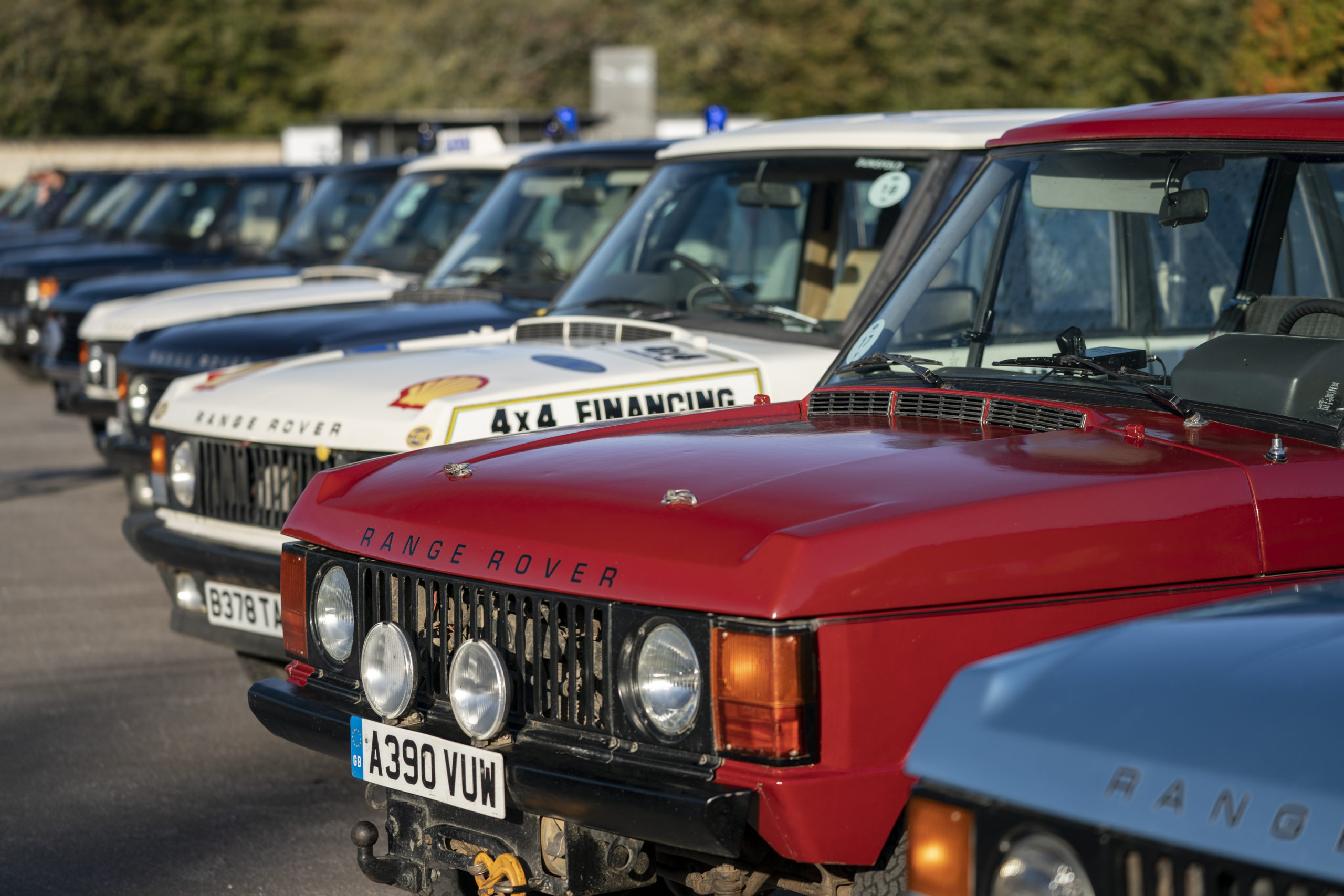 50 Years of Range Rover Celebration at 2020 Goodwood Festival of Speed