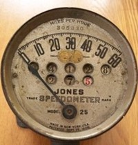 1908-era Jones Speedometer