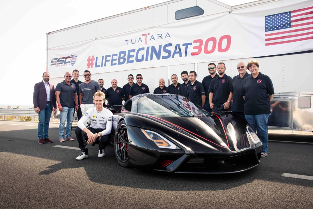 SSC Tuatara Fastest Production Car Record