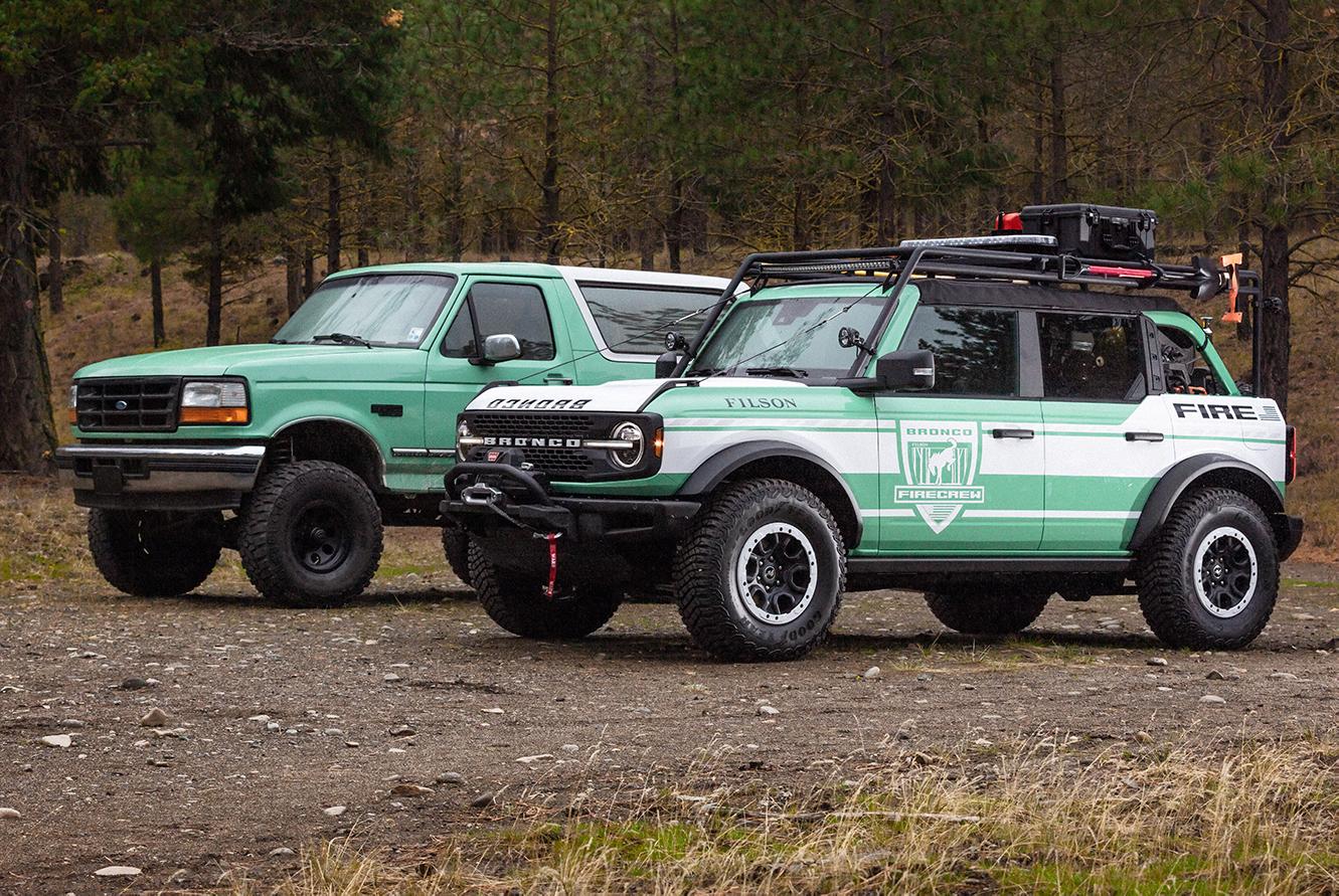 Bronco + Filson Wildland Fire Rig
