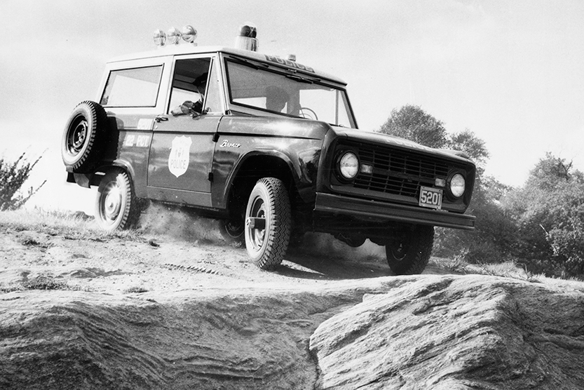 classic national forest service ford bronco