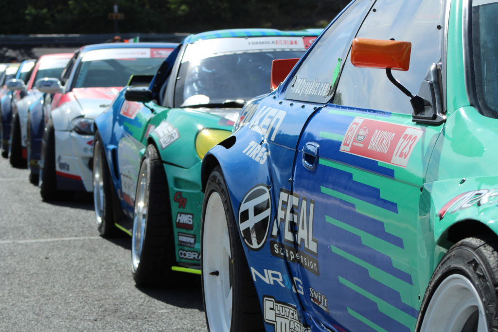 formula drift line up
