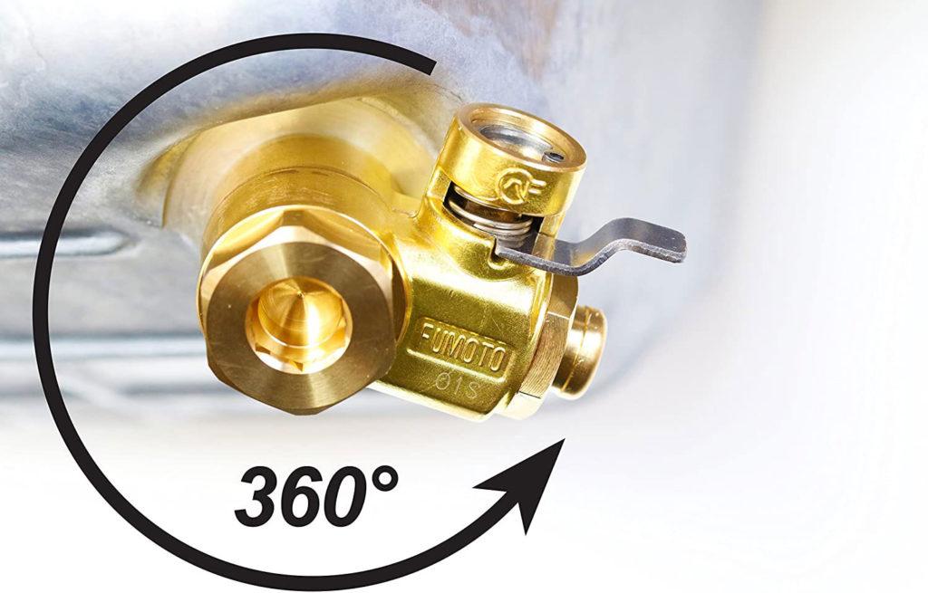 Fumoto sx valve