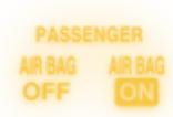 Airbag Off Indicator