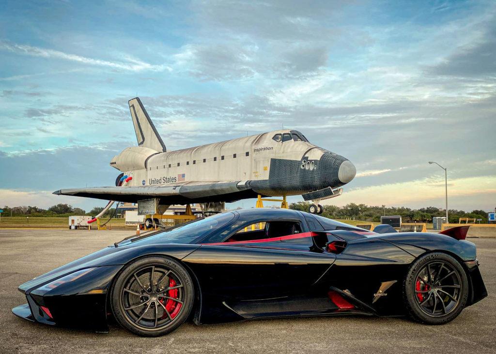 SSC Tuatara Fastest Production Car Record