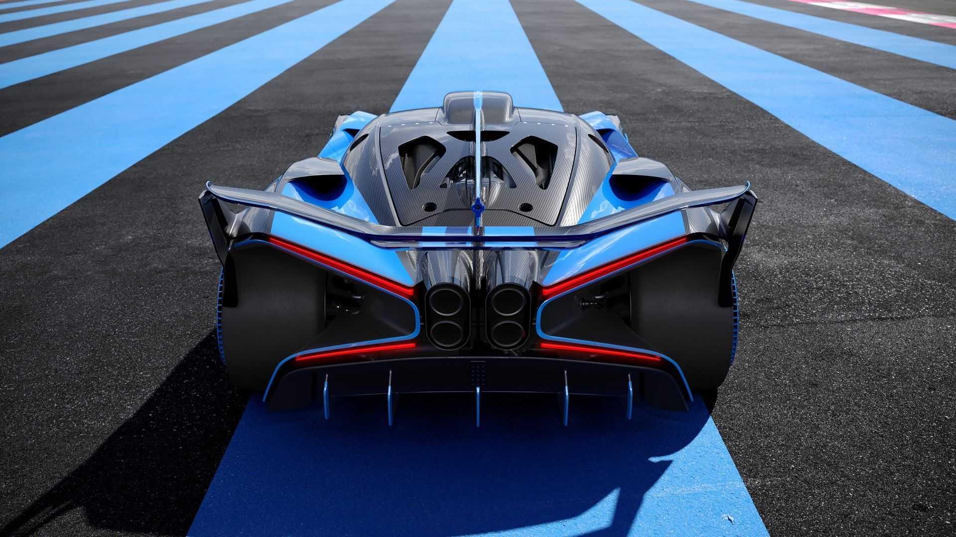 Bugatti Bolide rear end