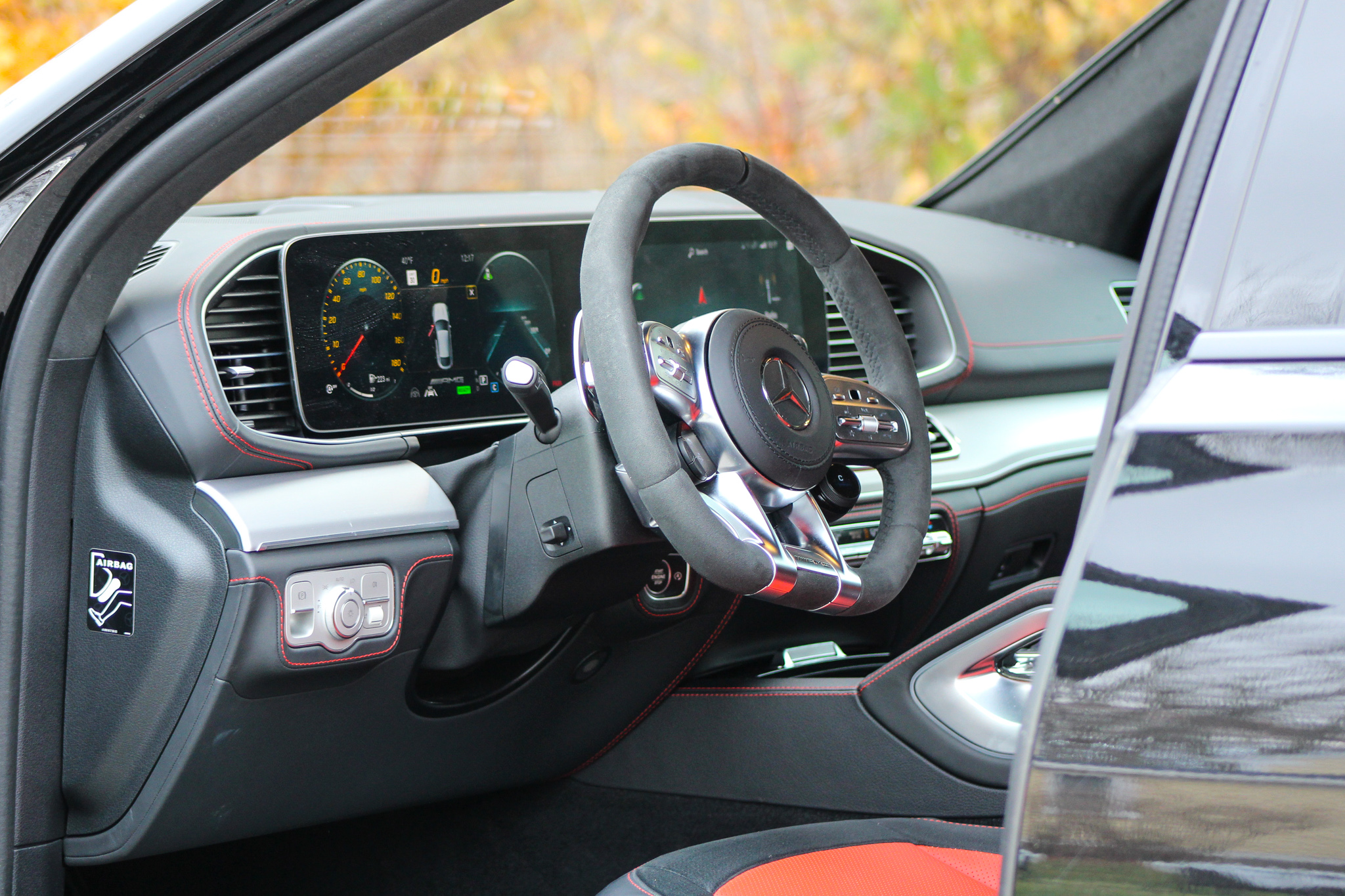 2021 Mercedes-AMG GLE 53 Coupe interior