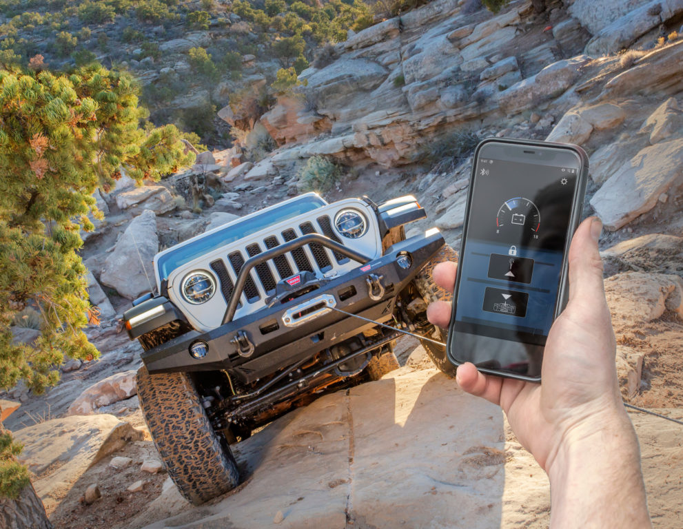 HUB Receiver and App with Jeep