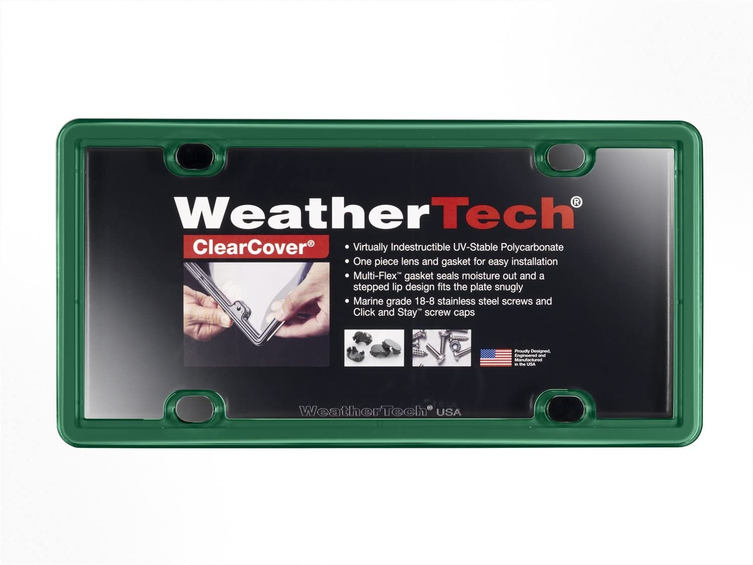 weathertech license plate frame