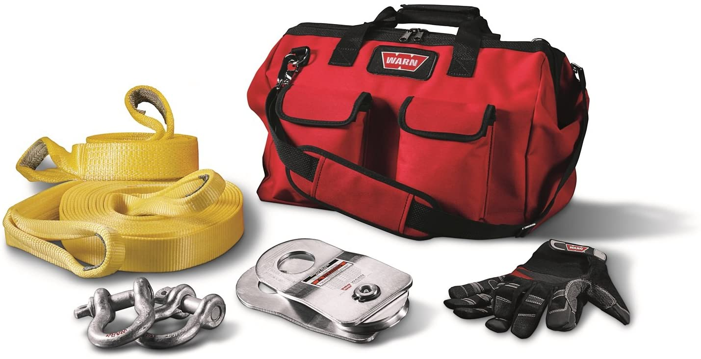 WARN 88900 Medium-Duty Winch Accessory Kit contents