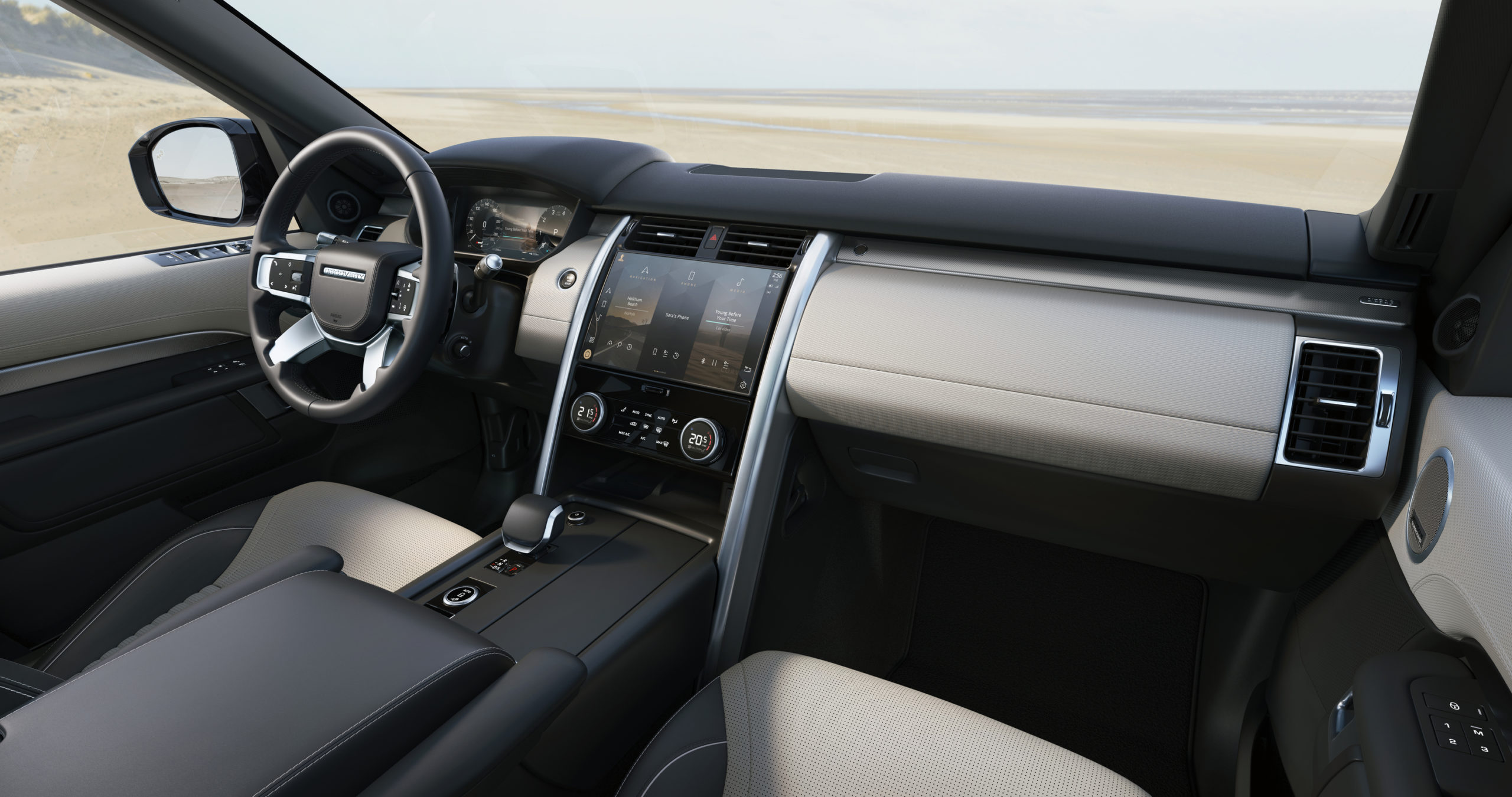 2021 Land Rover Discovery R Dynamic interior