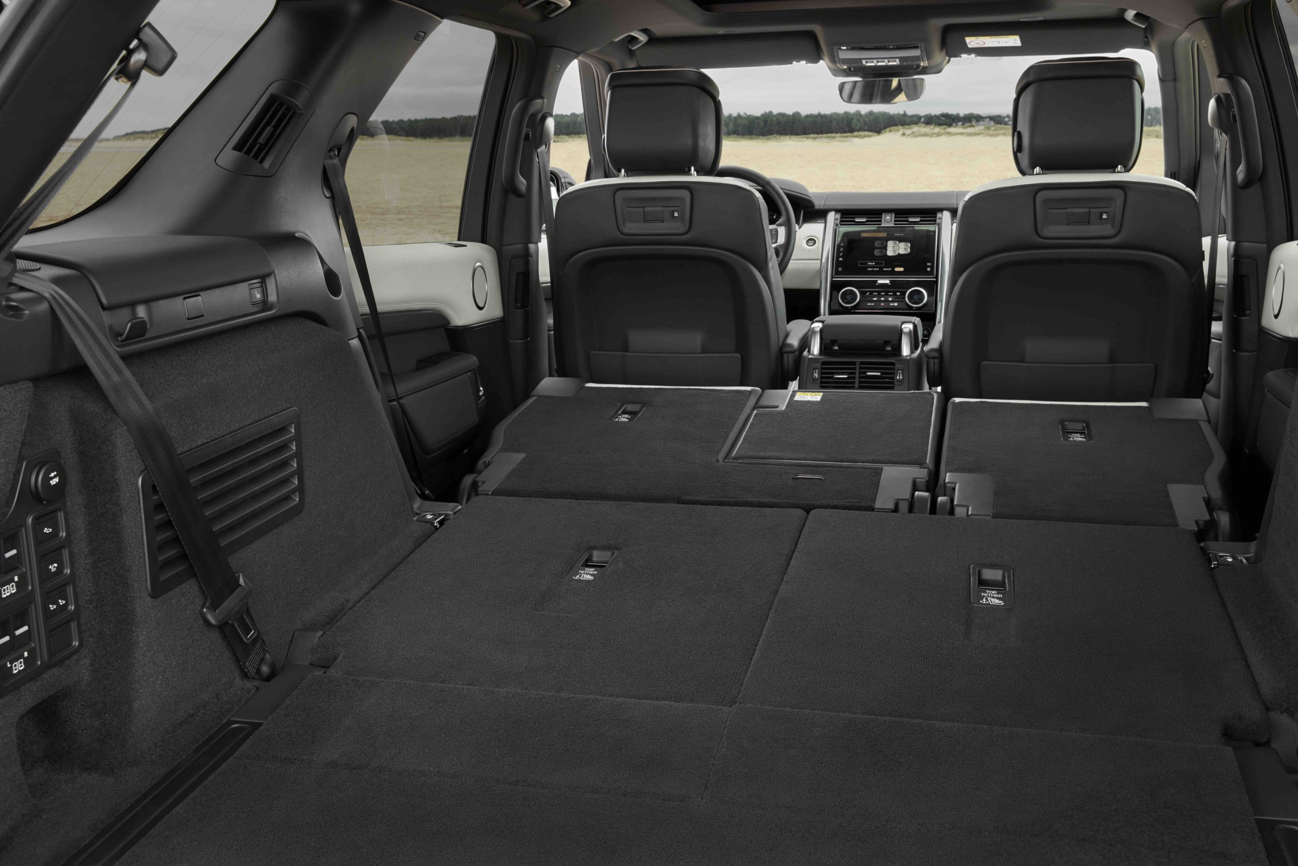 2021 Land Rover Discovery lay flat seats