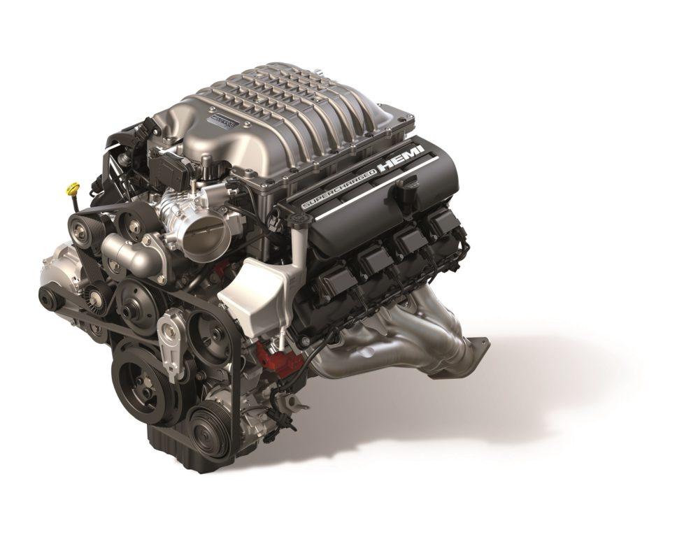 """Hellcrate Redeye"" 6.2-liter Supercharged HEMI® V-8 engine"