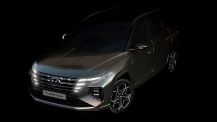 2022 Hyundai Tucson N-Line rendering