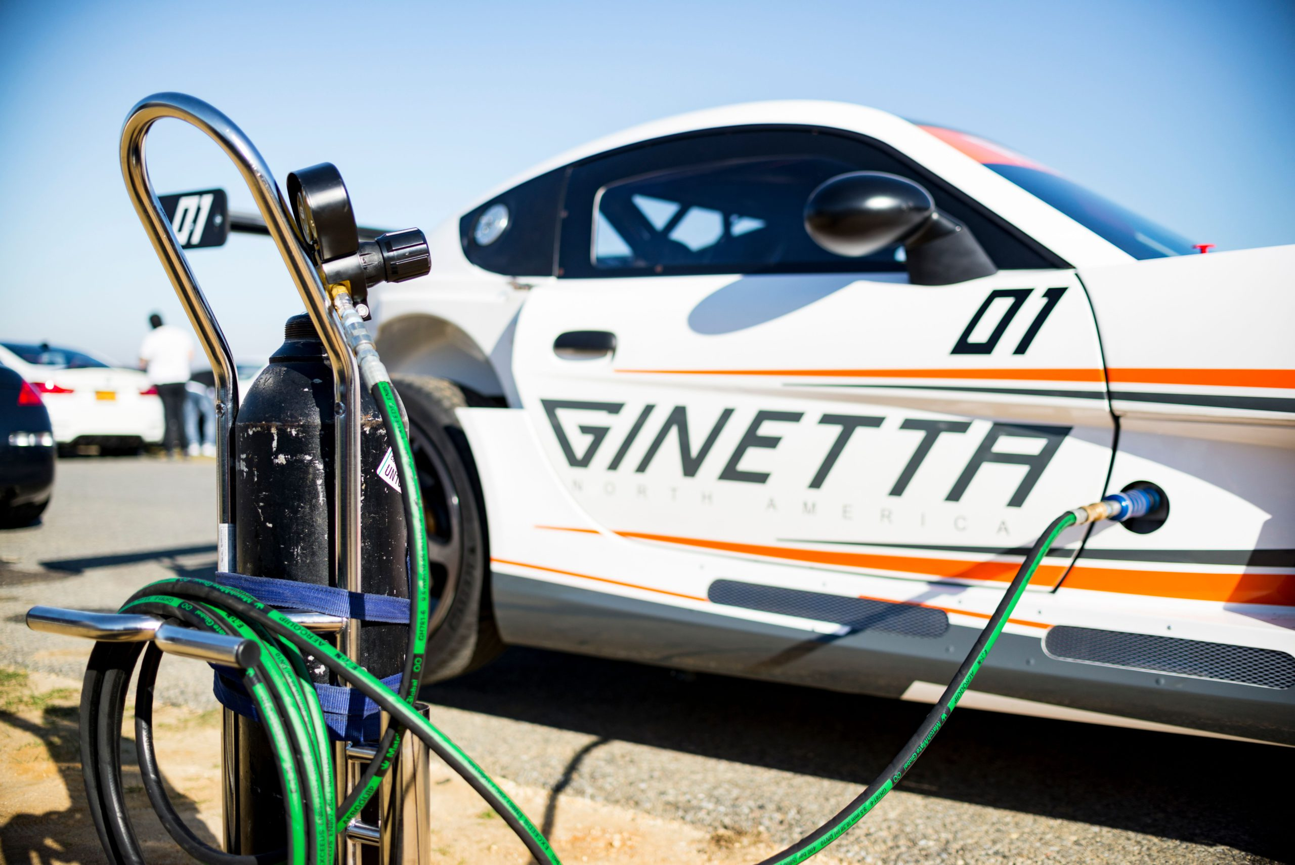 2021 Ginetta G55 GTA air jacks