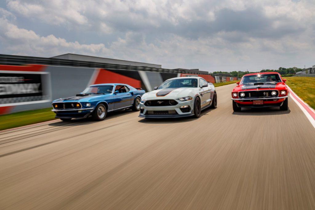 Ford Mustang Mach 1 Three Generations
