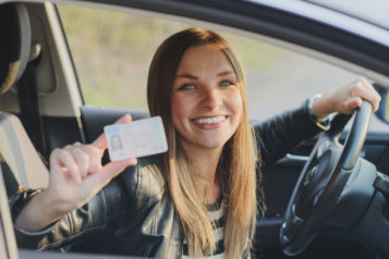 car gifts for new drivers - teenage driver with license