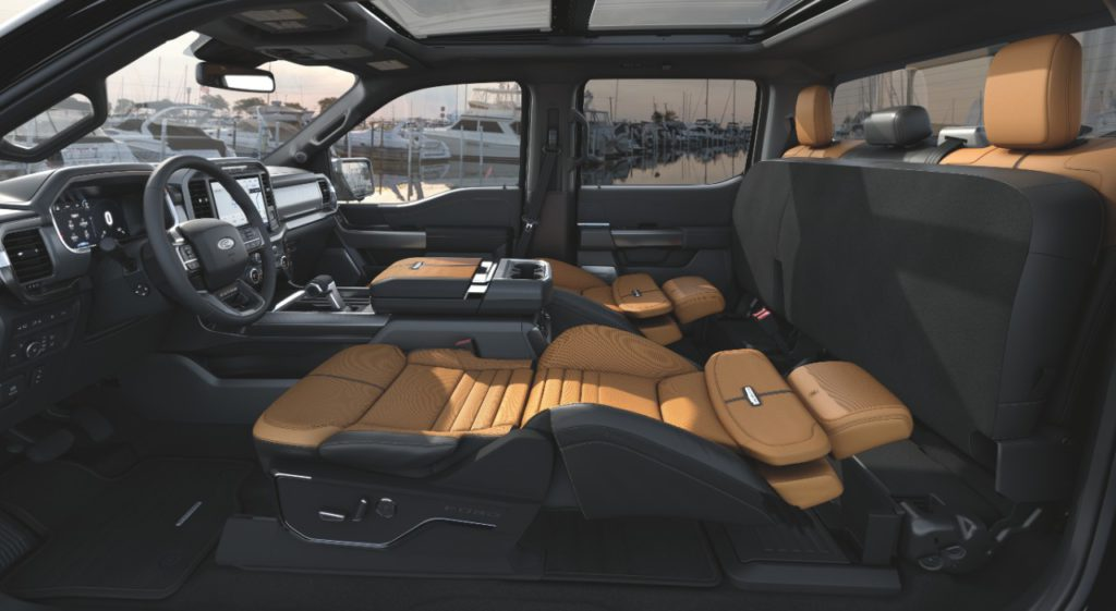 Ford F-150 Max Recline Seats