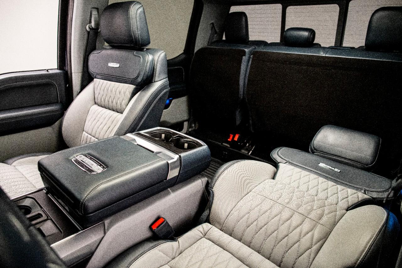 Ford F-150 Max Recline Seats